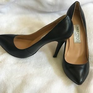 Jimmy Choo classic black high heels